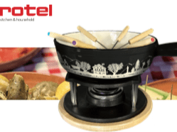 Rotel fondue packaging